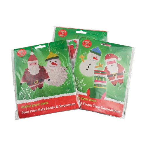 Decorating Ideas > Esposti  Craft Range  Christmas Craft Kits ~ 074301_Christmas Decoration Craft Kits